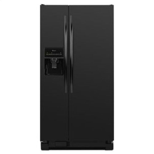 Side-by-Side Refrigerator with Adjustable Door Bins