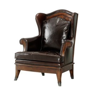 The Castle Fireside Upholstered Chair, #plain#
