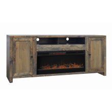 "Joshua Creek 84"" Fireplace Console"