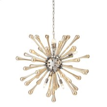 NK Bella Glass Chandelier