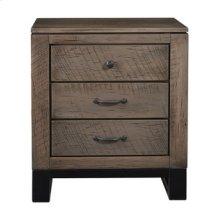Delridge 3 Drawer Nightstand