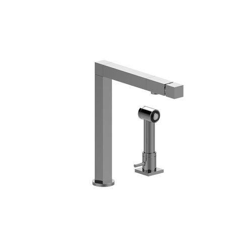 Manhattan Kitchen Faucet with Independent Side Spray