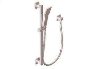 Flexible Hose Shower Kit with Slide Bar - Brushed Nickel Product Image