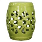 Ribbon Garden Stool, Green Product Image