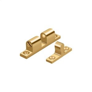 """Ball Tension Catch 1-7/8""""x 5/16"""" - PVD Polished Brass Product Image"""