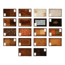 Set of 9 Finish Sample Panels (Large)