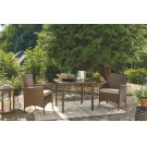Square Dining Table Set (3/CN) Product Image