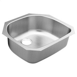 1800 Series 23.5 x 21-3_16 stainless steel 18 gauge single bowl sink Product Image