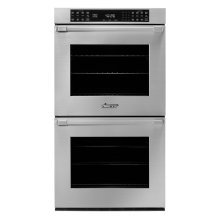 """27"""" Heritage Double Wall Oven, DacorMatch with Pro Style Handle (End Caps in Stainless Steel)"""