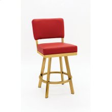 Miami Gold Stainless Steel Bar Stool