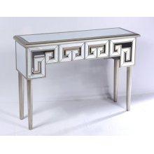 Emerald Home T425-02 Heritage Sofa Table, Mirror