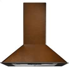 "30"" Oiled Bronze Wall-Mount Canopy Hood"