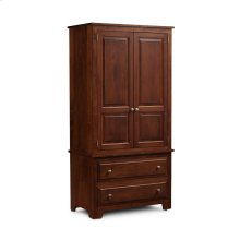 Homestead Tall Armoire on Chest