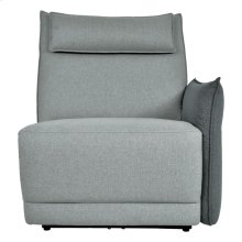 Power Right Side Reclining Chair with Power Headrest and Adjustable Arm