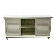 Plasma Stand, Available in Cottage White Finish Only.
