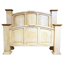 Heirloom King Mansion Bed