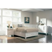 Sandy Beach White Queen Five-piece Bedroom Set