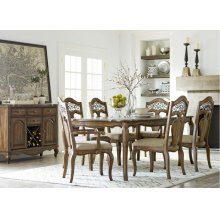 Standard Furniture 14360 Monterey rectangular Dining Table Aztec Houston Texas