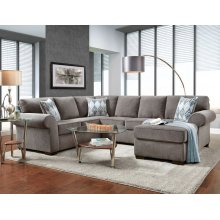 Charisma Smoke 3-Piece Sectional