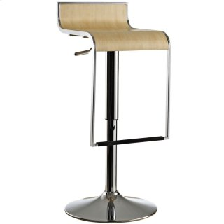 LEM Wood Bar Stool in Natural