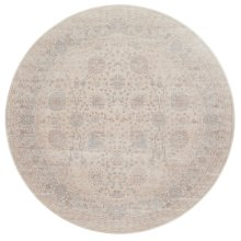 "Ella Rose Natural Rug - 7'-7"" X 7'-7"" Round"