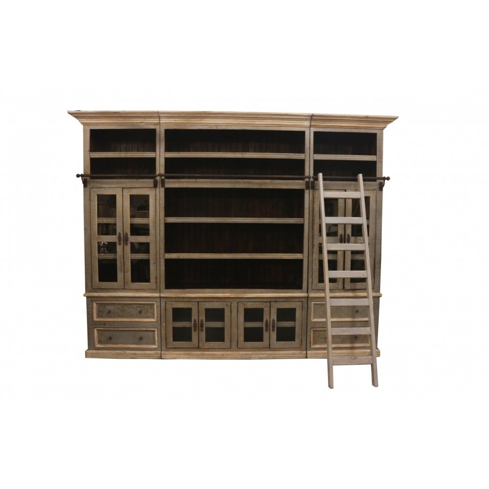 Factory 4 Rustic 5 Piece Bookcase
