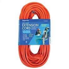 16/3 100 ft. Orange Extension Cord