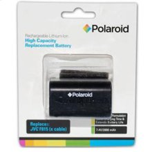 Polaroid High Capacity JVC F815 Rechargeable Lithium Replacement Battery