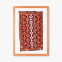 0300980011 Vintage Turkish Rug Wall Art