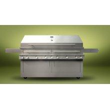 K1500HT Hybrid Fire Freestanding Grill
