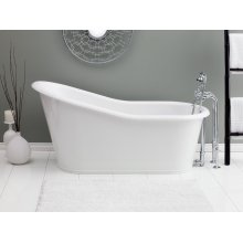 DAKOTA Cast Iron Bathtub With Continuous Rolled Rim