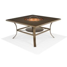 "48"" Square Fire Pit (Wood Burning)"