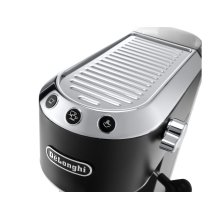Dedica DeLuxe Manual Espresso Machine, Cappuccino Maker - Black - EC685BK