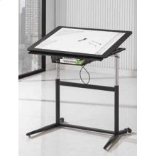 Adjustable Drafting Desk, Black
