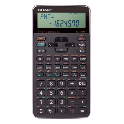 Fully Featured Non-programmable Financial Calculator