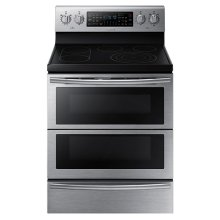 NE59J7850WS Electric Flex Duo ® Range with Soft Close and Dual Door (Stainless Steel)