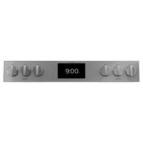 "Café 30"" Smart Slide-In, Front-Control, Dual-Fuel Range"