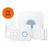 Alarm Security Kit, 5-Piece - White: *Ships to the continental US (including Alaska and Hawaii) and Canada (excluding Quebec)