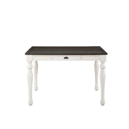 "Joanna Two Tone Counter Table 54""x36""x54 w/18"" Leaf"