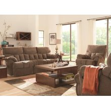 Re-Fueler Double Reclining Sofa with Power Plus