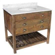 Reclaimed Pine 1-Drawer Vanity