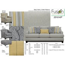 Chalet Platinum Sofa Group