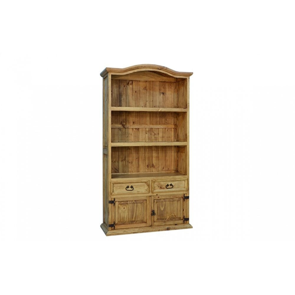 Traditional 2 Drawer 2 Door Bookshelf