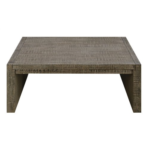 Emerald Home Cubix Square Coffee Table Pewter T273-05