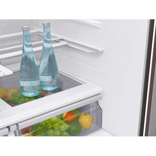 28 cu. ft. 4-Door French Door Refrigerator with Touch Screen Family Hub in Tuscan Stainless Steel