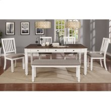Highlands 6pc Dining Set in White