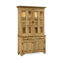 Tudorbethan Natural Oak China Cabinet