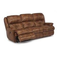 Cruise Control Leather or Fabric Reclining Sofa