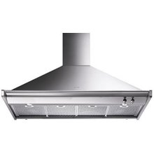 """120 CM (approx. 48""""), Ventilation Hood, Stainless Steel"""