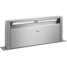 "400 series Retractable downdraft ventilation Stainless steel Width 36"" (90 cm)"